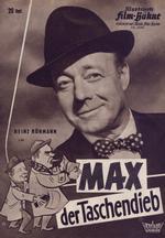 Filmplakat zu »Max der Taschendieb« (1961/1962)