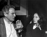 Mit Eleonore Weisgerber bei den Dreharbeiten zu »Vivatgasse 7«, einer Serie des Süddeutschen Rundfunks (1980-1981)