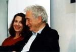 Mit Daniela Dadieu im November 2003 während des Workshops »Immer lebe ich in diesem Missverhältnis...« (© Rüdiger Hornkamp)