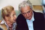 Mit Marga Spiegel im November 2003 während des Workshops »Immer lebe ich in diesem Missverhältnis...« (© Rüdiger Hornkamp)