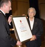 Verleihung der Ehrenbürgerwürde der Stadt Ahlen 2006
